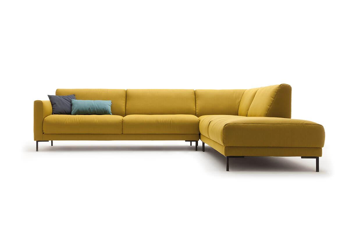 Freistil 141-hoekbank-geel