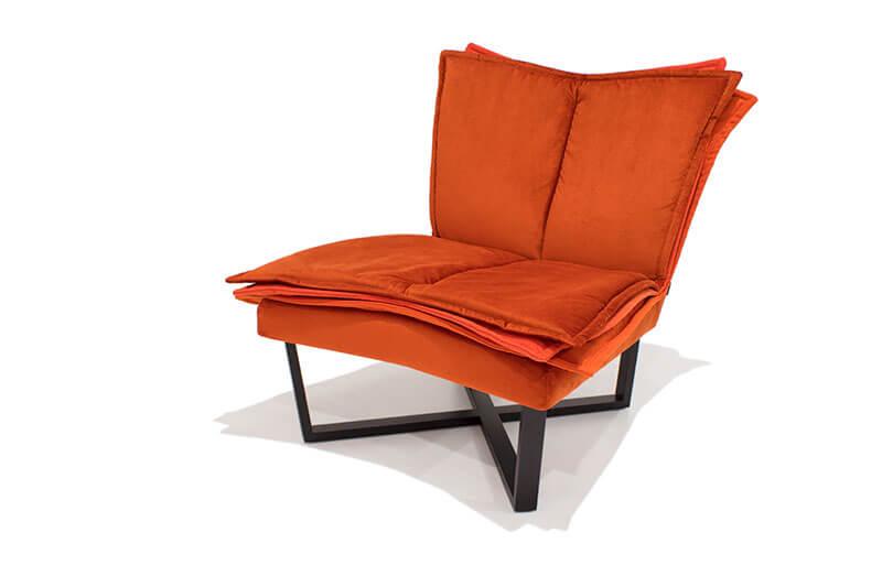 Moome fauteuil Flo oranje