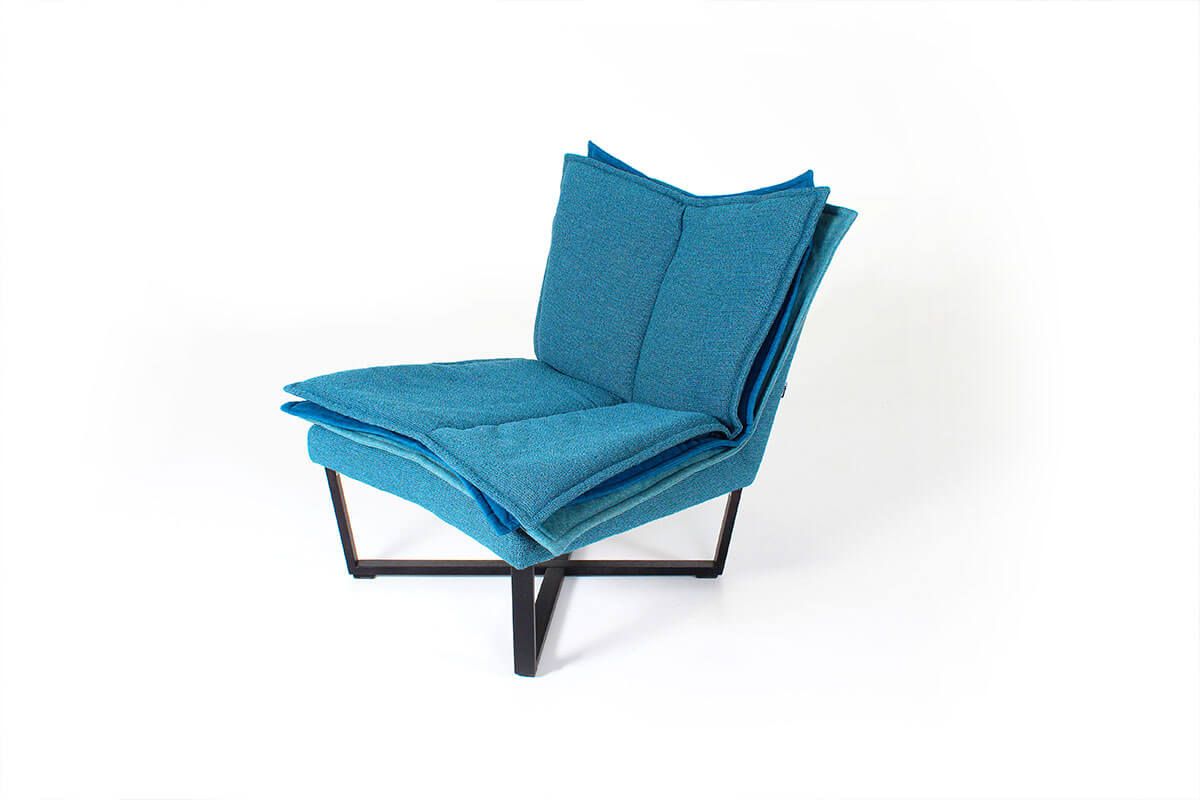Moome fauteuil Flo blauw