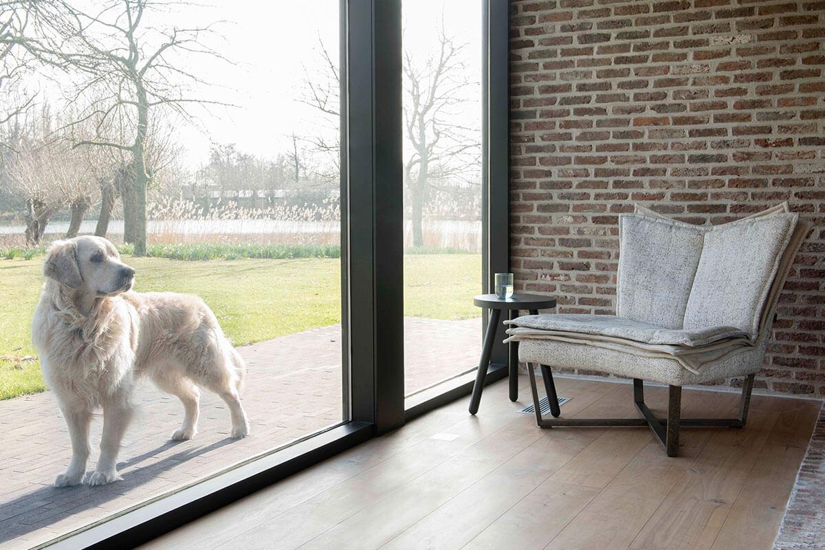 Moome fauteuil Flo grijs